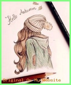 Wolfsmädchen: September 2014 You are in the right place about lyrical Dancing Drawings Here we offer Hipster Girl Drawing, Hipster Drawings, Tumblr Drawings, Pencil Art Drawings, Art Drawings Sketches, Hipster Kunst, Pretty Girl Drawing, Cute Girl Sketch, Pencil Sketches Easy