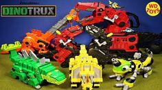 New Top 10 Dinotrux Toys Mega Chompin Ty Rux Talking Dinosaur Trucks Dre...