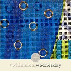 Today's stitch is an homage to our own never-ending cycle of Groundhog Days. Needlepoint Stitches, Needlework, I Respect You, Groundhog Day, Color Lines, Cool Tools, Instagram Accounts, All The Colors, Whimsical