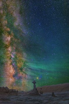 Milky Way in Goblin Valley State Park ~ Green River, Utah