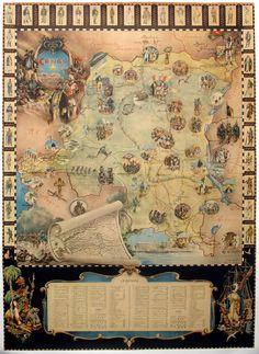 Congo History Map, c. 1955