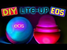 DIY Peppermint Hot Chocolate EOS!! A Cute Winter EOS Lip Balm - YouTube