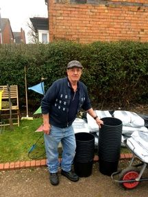 Care home residents watch their garden grow after cops cannabis drugs bust