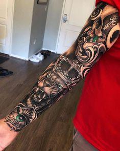 50 Eye-Catching Lion Tattoos That'll Make You Want To Get Inked - Tattoo ideen. - 50 Eye-Catching Lion Tattoos That'll Make You Want To Get Inked – Tattoo ideen – - Forarm Tattoos, Cool Forearm Tattoos, Badass Tattoos, Arm Tattoos For Guys, Tattoo Girls, Tattoos For Women, Cool Tattoos, Art Tattoos, Small Tattoos
