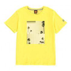 d80e0165db T-Shirt Photo Print Palmiers Joseph Jaune Sundek T Shirt Photo Printing, My  Design