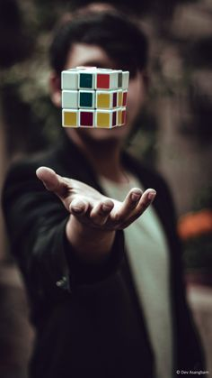 Photo by Dev Asangbam on Unsplash Perspective Photography, Photography Poses For Men, Photography Projects, Mobile Photography, Creative Photography, Photo Poses For Boy, Poses For Photos, Art Optical, Rubik's Cube