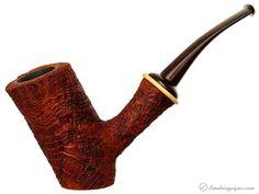 Il Duca Barone Sandblasted Cherrywood (B3) Pipes at Smoking Pipes .com