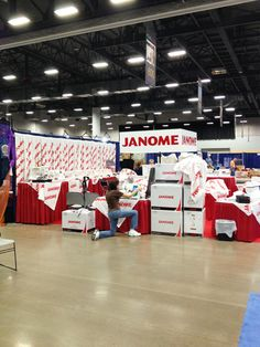 Janome is in the house (almost).