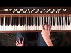 How To Play Rihanna - We Found Love Piano Tutorial & Lesson.
