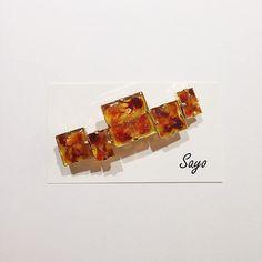 この画像は「【DIY】透き通る琥珀。100均アイテムで作るべっ甲アクセサリーが本格的で可愛すぎる♡」のまとめの1枚目の画像です。