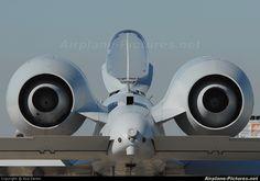 A-10 Thunderbolt II Rear View