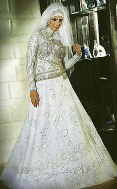 Modern Islamic Wedding Dress