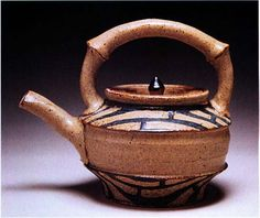This is a teapot by Marty Fielding. Fielding was a Ceramics Monthly Emerging Artist in 2002.