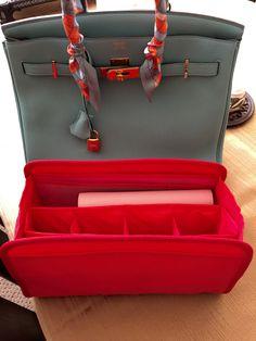 9723ccd5120f Purse Organizer Insert for Hermes Birkin 35. Emma 28 by CloverSac  22.00 Hermes  Bags