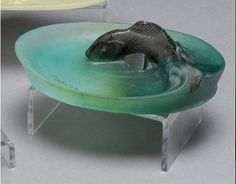 Amalric Walter dish with a fish.