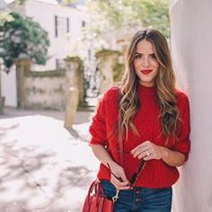 0ac44c572e320f The perfect shade of red 💋 more of this look over on galmeetsglam.com (