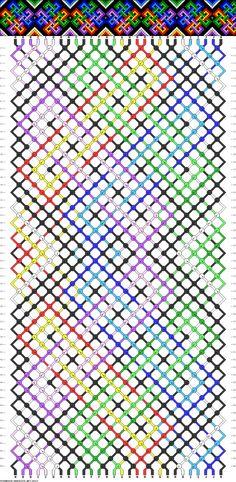 25227 Celtic, knot, rainbow, pride, gsrm, cuff, reverse