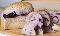 롤링핀 블루베리 식빵. Rolling Pin blueberry bread. @현대백화점