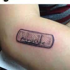 Band Aid Tattoos 11 Bandaid Tattoo Tattoos Band Aid