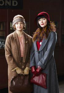 Dorothy 'Dot' Williams (Ashleigh Cummings) and    Phryne Fisher (Essie Davis) - Miss Fisher's Murder Mysteries