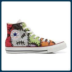 Make Your Shoes Converse Customized Adulte - chaussures coutume (produit artisanal) Persian Paisley size 33 EU SMOpvI7l