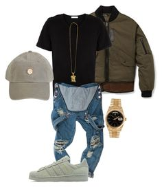 Untitled #31 by gurustreetwear on Polyvore featuring polyvore, fashion, style, OneTeaspoon, adidas Originals, See You Never, Coach, Pierre Balmain, Rolex and clothing