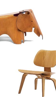 Eames Elephant and Lcw Chair Plywood Design, Charles & Ray Eames, Modernism, Midcentury Modern, Room Inspiration, Baby Room, Kids Room, Furniture Design, Elephant