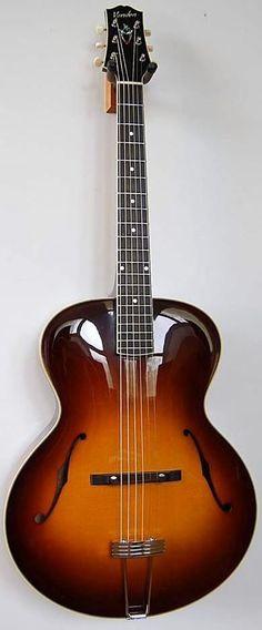 Mike Vanden Rialto archtop Guitar --- https://www.pinterest.com/lardyfatboy/