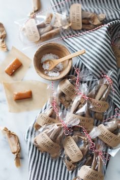 Maple Bacon Fat Caramels make the perfect gift for the bacon lover in your life - Snixy Kitchen