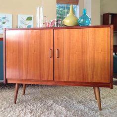 Rhan Vintage.  Mid Century Modern Blog.: Now That's a Bar!  Mid Century, Danish Bar Cabinet...