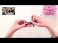 Yarn Over Bind-Off - VeryPink offers knitting patterns and video tutorials from Staci Perry. Short technique videos and longer pattern tutorials to take your knitting skills to the next level. Bind Off Knitting, Knitting Help, Knitting Videos, Crochet Videos, Knitting For Beginners, Knitting Stitches, Knitting Yarn, Knitting Projects, Knitting Patterns