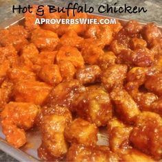 Buffalo and BBQ Chicken Tenders