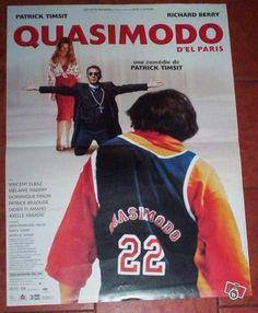 """Affiche cinéma """"Quasimodo d'el Paris"""" Collection Charente - leboncoin.fr - 9€"""