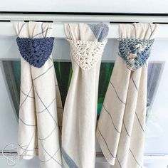 Easy Kitchen Towel Topper Crochet Pattern Crochet Dish Towel | Etsy Crochet Dish Towels, Crochet Towel Topper, Crochet Kitchen Towels, Crochet Hooks, All Free Crochet, Double Crochet, Single Crochet, Easy Crochet, Crochet Granny