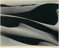 Dunes, Oceano. Edward Weston