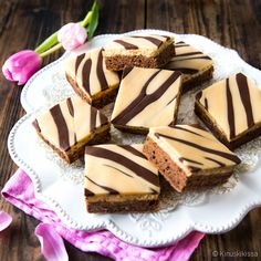 Blondie Brownies, Blondies, Toffee, Making Ideas, Baking Recipes, Deserts, Food And Drink, Pudding, Candy