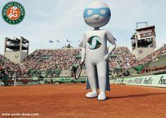 Beaucoup de français entrent en lice au tournoi de Roland Garros, Super Yonis fait en partie. Yonis-shop.com
