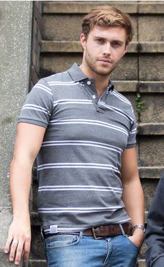 The fairtrade, sustainable Striped Polo from Epona