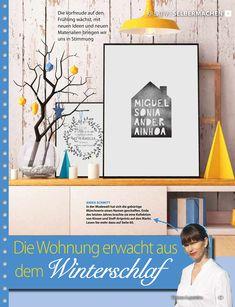 Wohnen und Geniessen schreibt über Modedesignerin Anika Schmitt und Ihr neues Hometextile Projekt: My Home and Yours