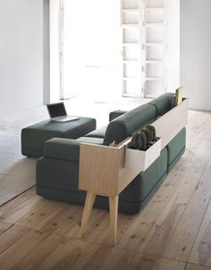 Hybrid Between a Sofa and Occasional Furniture - Design Milk Sofa Furniture, Modern Furniture, Furniture Design, Furniture Stores, Industrial Design Furniture, Small Furniture, Furniture Online, Deco Design, Furniture Inspiration