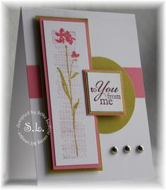 Stampin' Up! The Art of Life.