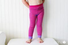 5 minute toddler leggings!