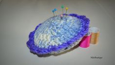 Handmade Crochet Pincushion. by NikoBoutique on Etsy