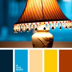 бежевый, голубой, джинсовый синий, насыщенный синий, оранжевый, осеннее сочетание цветов, осенние цвета, почти черный цвет, серо-синий цвет, синий, темно-синий, темно-синий цвет, цвет света, цвета осени, яркий желтый, яркий оранжевый.