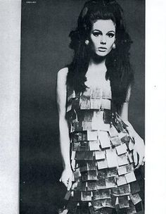 International Velvet aka Susan Bottomly. 1960's Warhol Superstar and Fashion Model.