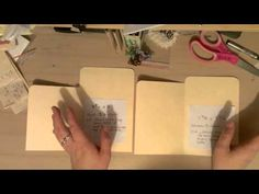 ▶ Another addition to the manila folder mini's - YouTube