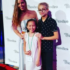 Tiana meets disney star miranda may of the hit tv show bunkd premiereprogram meet greet with miranda may of disneys bunkd and jj torah who recently played a student named seymour in the latest spiderman m4hsunfo