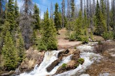 https://flic.kr/p/HQArBh   Wolf Creek Colorado   Early Summer Run Off  Please check me out at Gary P Kurns Oklahoma Photography