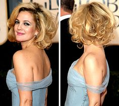 25 best short haircuts for women with curly hair hair Haircuts For Curly Hair, Short Curly Hair, Bob Hairstyles, Wedding Hairstyles, Short Haircuts, Fashion Hairstyles, Curly Bob, Drew Barrymore Hair, Medium Hair Styles
