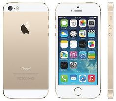 Factory Unlocked Original Apple iPhone 5S 16GB 4G LTE GSM Smartphone Gold CAAL | eBay
